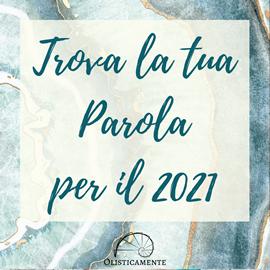 Regalo: Parola dell'Anno 2021