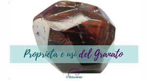 Schede monografiche su pietre e cristalli: Granato